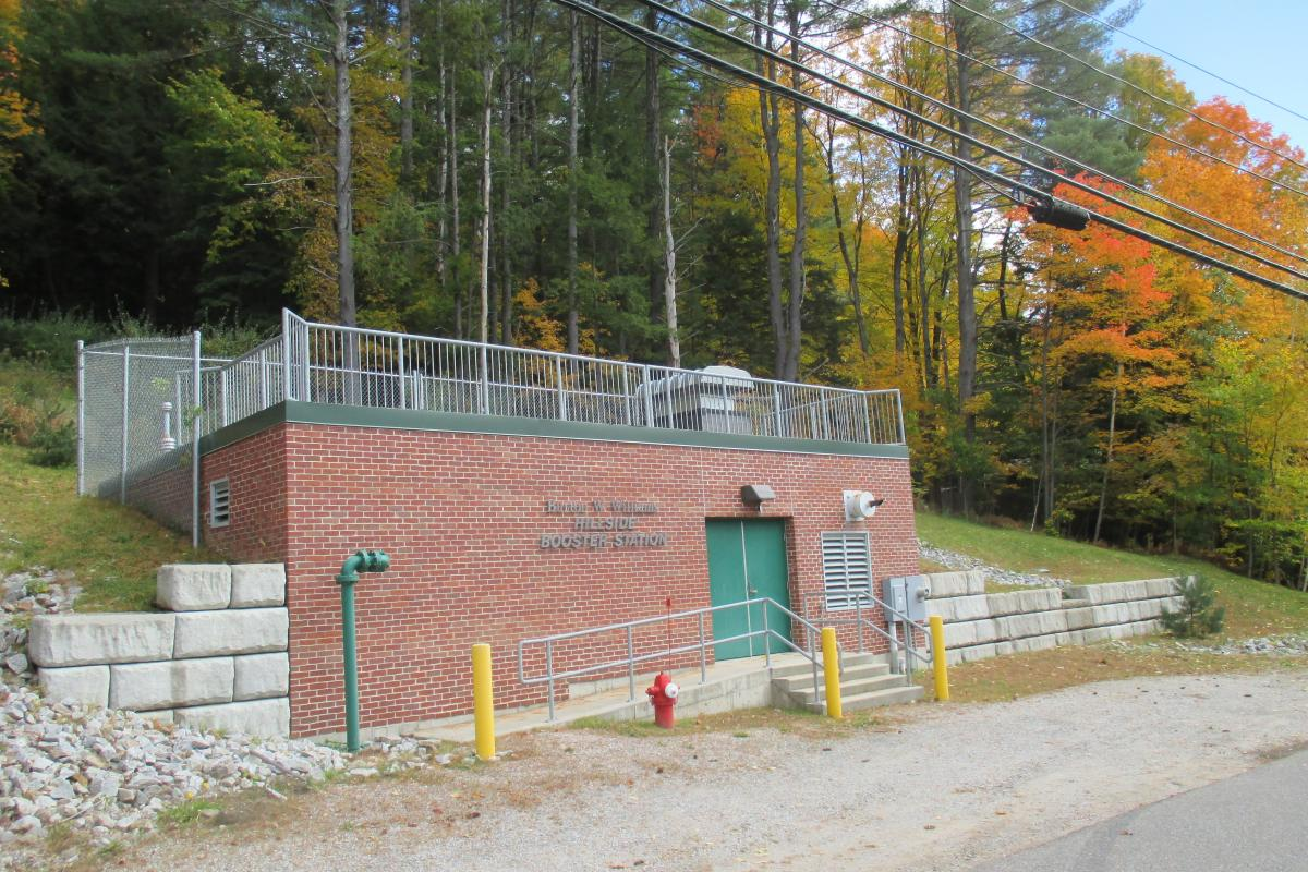 Operating System - Hillside Booster Station