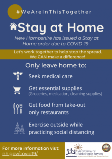 Stay At Home due to COVID-19